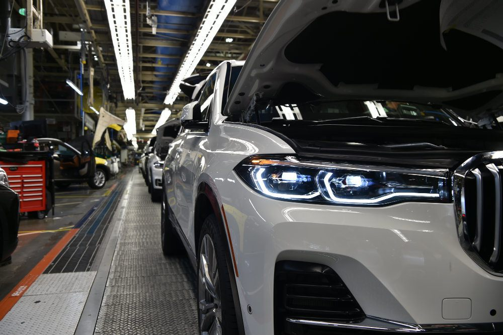 BMW X7 Enters Pre-Production In South Carolina