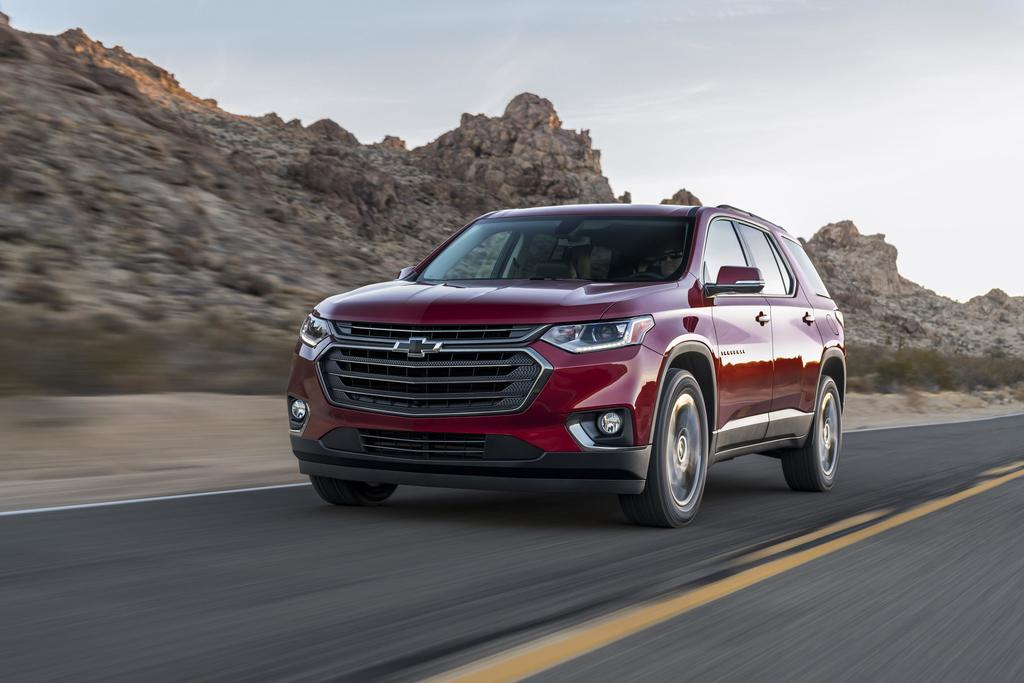 2018 Chevy Traverse RS: Not Your Father's Traverse
