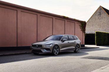 223569 New Volvo V60 exterior