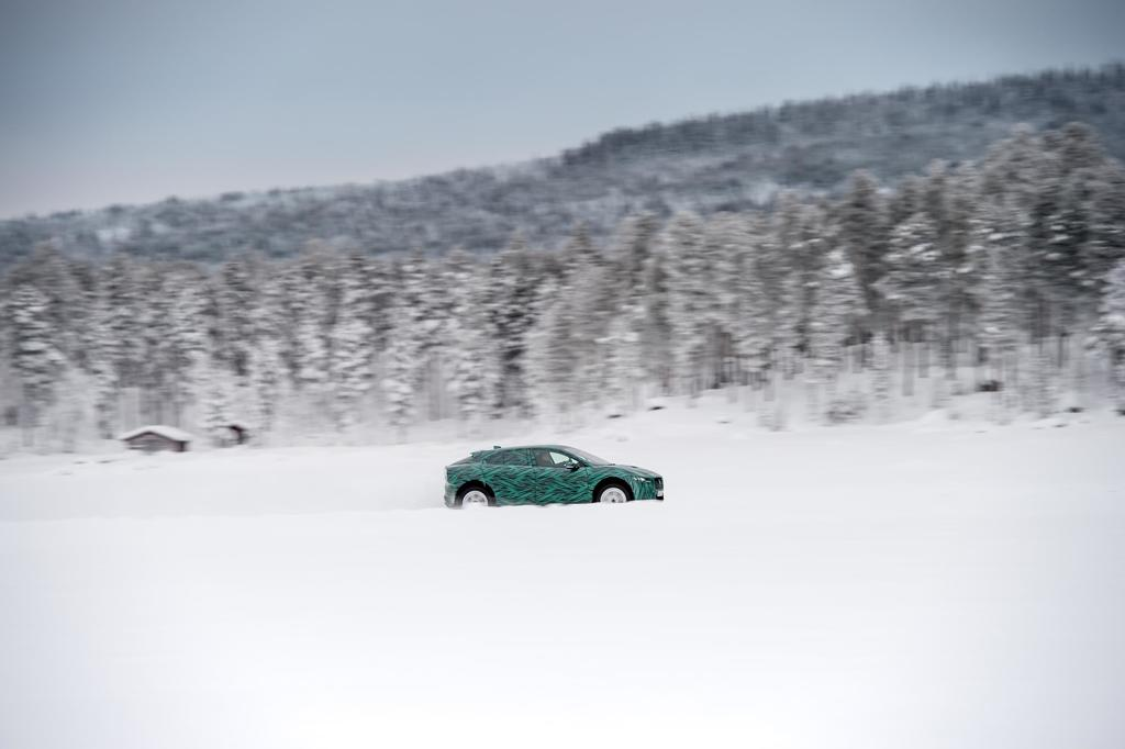 Jaguar I-PACE Takes On The Arctic (Video)