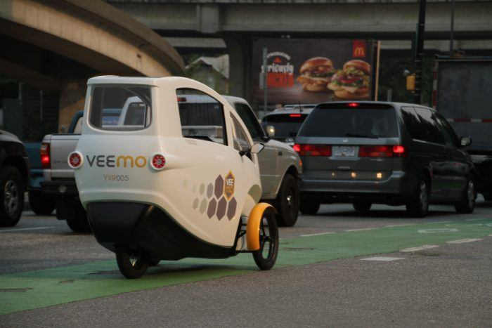 Veemo Bike Lane Behind