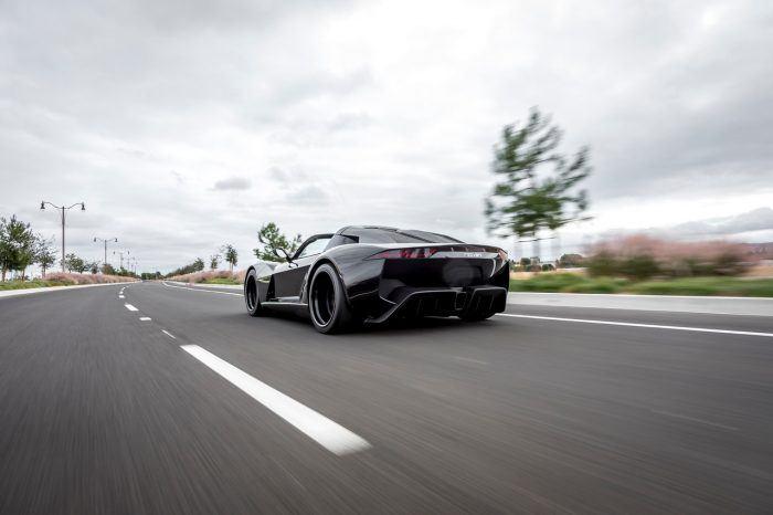 Rezvani Beast Alpha X Blackbird driving