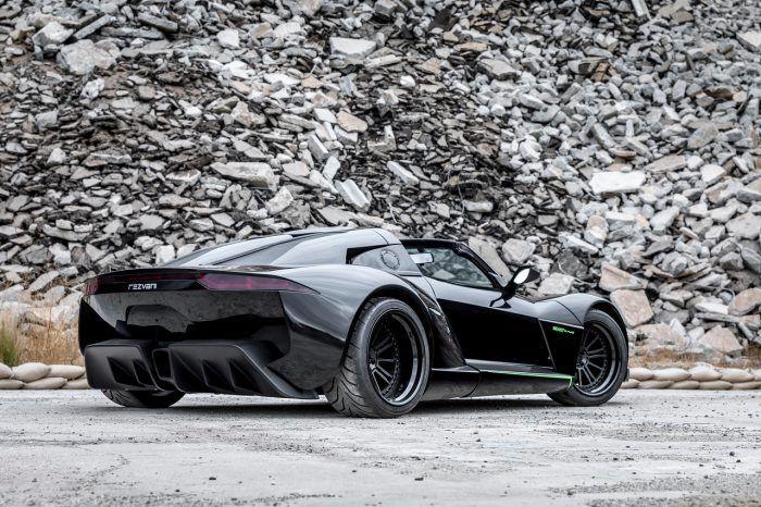 Rezvani Beast Alpha X Blackbird rear
