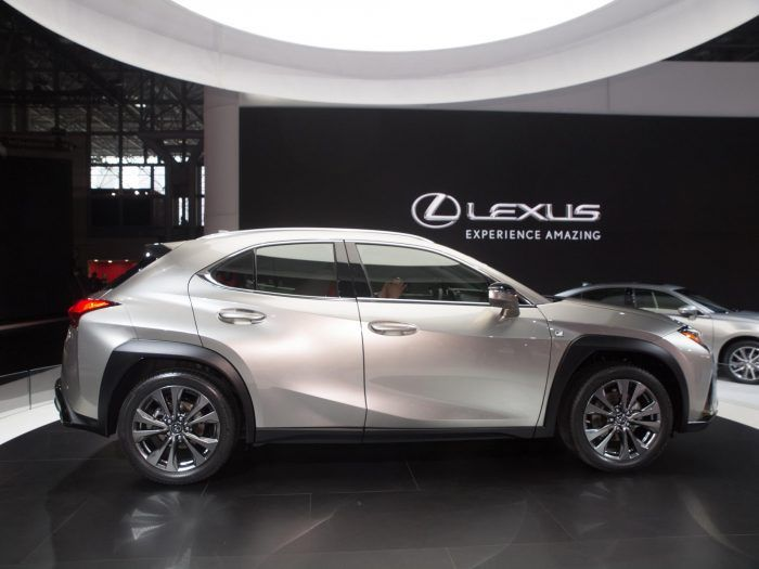 2018 New York International Auto Show Lexus UX 1