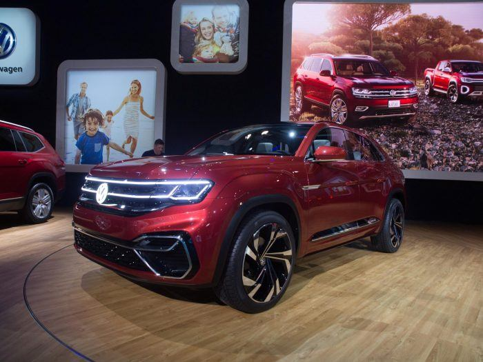 2018 New York International Auto Show VW Atlas Cross Sport 31