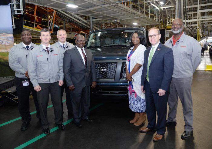 Nissan Celebrates Production Milestone In Mississippi
