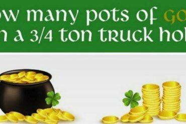 How Much Gold Can Your Favorite HD Truck Haul On St. Patrick's Day 27