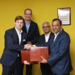 Ford Mahindra MoU Signing Picture