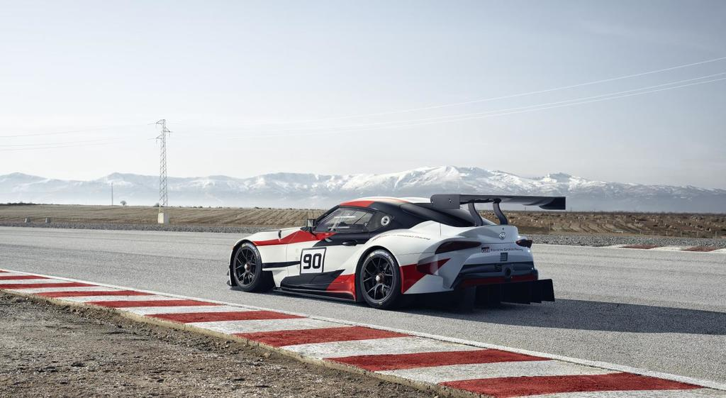 Toyota GR Supra Racing Concept: The New Supra Perhaps?