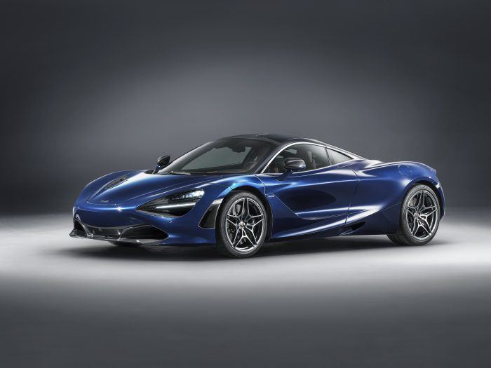 McLaren 720S in Atlantic Blue by MSO 1