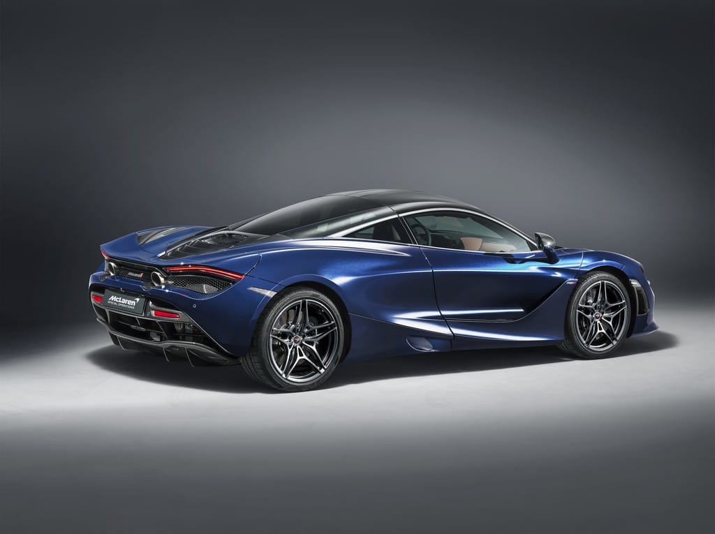 McLaren 720S in Atlantic Blue by MSO 2