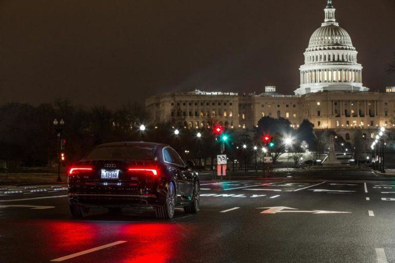 "Audi Vehicles Can Now ""Talk"" With Traffic Lights In Washington DC 23"