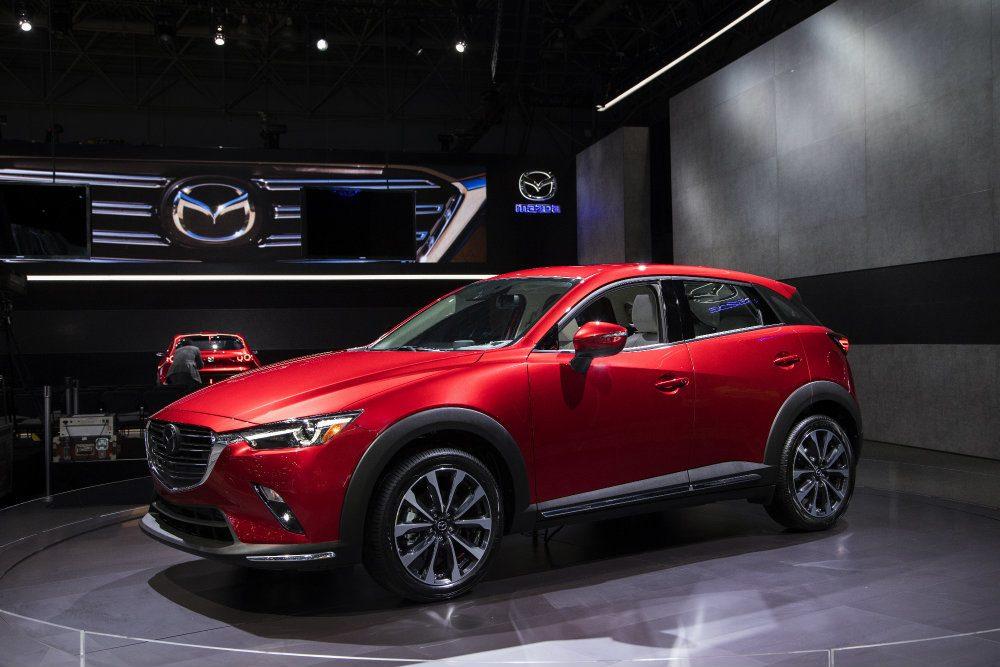 Events 2018 New York International Auto Show 2019 Mazda CX 3 7