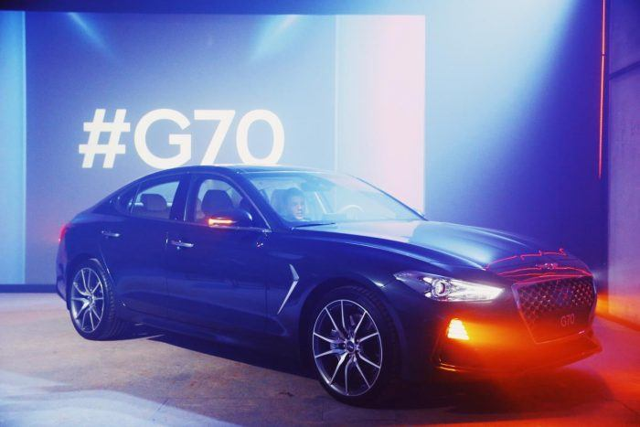 Genesis G70 Launch in Russian Market 2