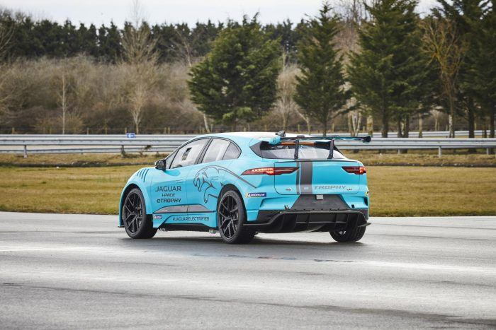 Jaguar I-PACE eTROPHY Set For Global Debut
