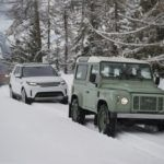 LAND ROVER LINE IN THE SNOW 03