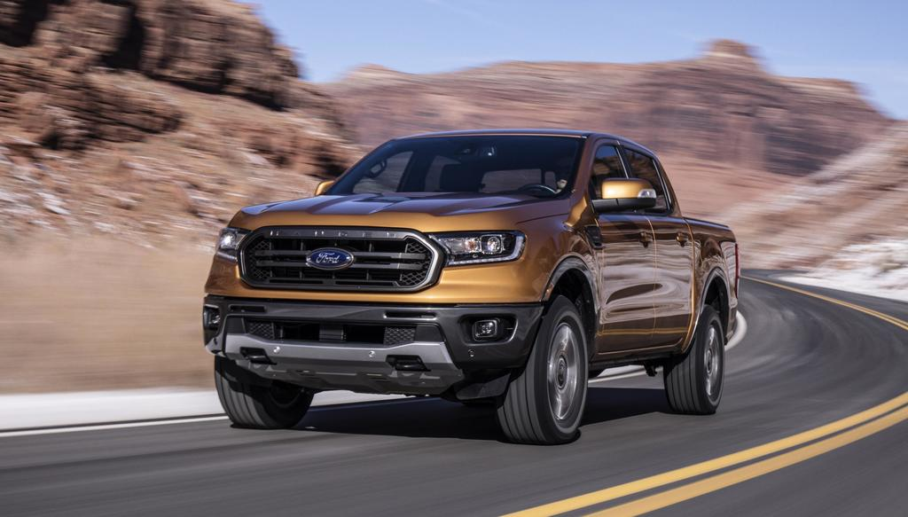 2019 Ford Ranger: Radar Love