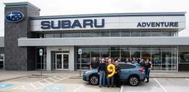 9mm vehicle hero image 2 370x180 - Subaru of America Delivers Nine-Millionth Vehicle To Arkansas Doctor