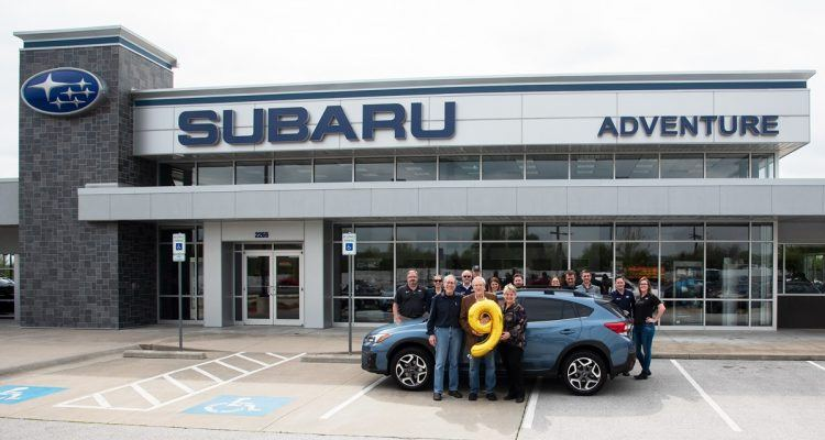subaru of america delivers nine millionth vehicle to. Black Bedroom Furniture Sets. Home Design Ideas
