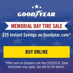 Goodyear Memorial Day Sale