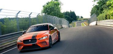 J SVO XE SV Project8 19MY development 260418 En 02 370x180 - Jaguar XE SV Project 8: Look Out Everyone! (Especially Germans)