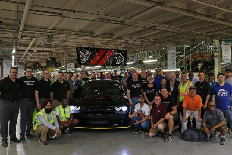 Final 2018 Dodge Challenger SRT Demon Assembled 25