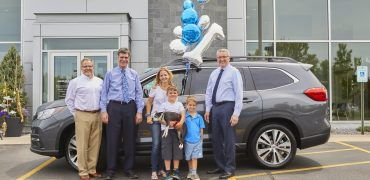 1st Ascent 370x180 - First 2019 Subaru Ascent Hits The Road