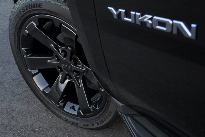 2019 GMC Yukon Graphite Performance Edition Wheels 023