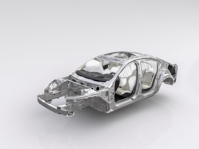 230739 New Volvo S60 Safety Cage