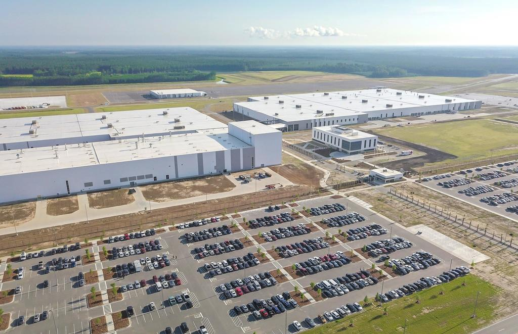 230908 Volvo s new manufacturing plant in South Carolina USA