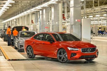 231424 Volvo s new manufacturing plant in South Carolina USA