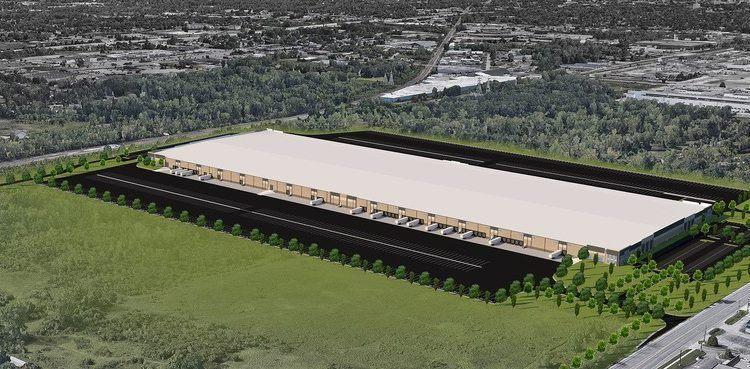 Burton Site Rendering 750x369 - GM Breaks Ground On New Parts Processing Facility In Burton, Michigan