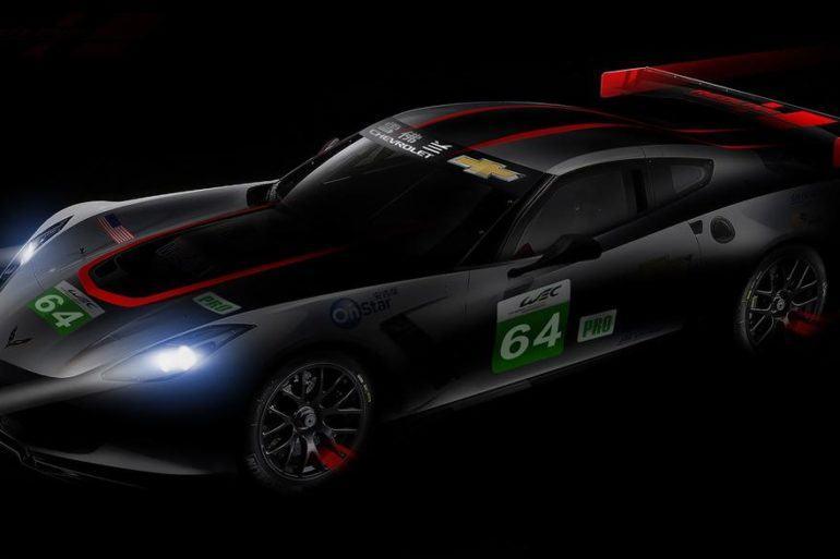Corvette C7R Redline WEC Shanghai