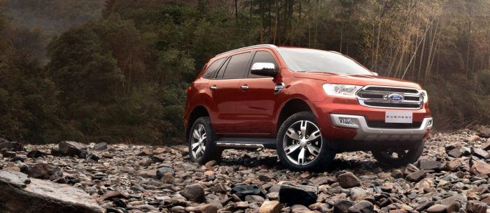 5 Ford Everest led sales of Ford Philippines in March 2017