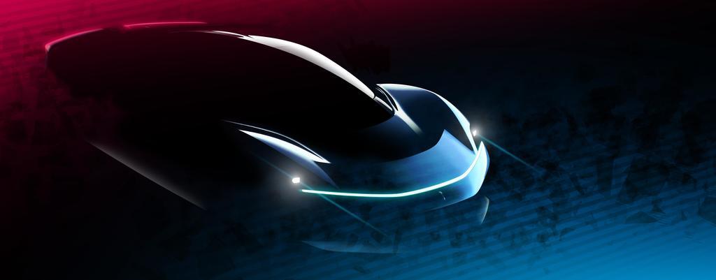 Automobili Pininfarina PF0 Design Intent Sketch 2