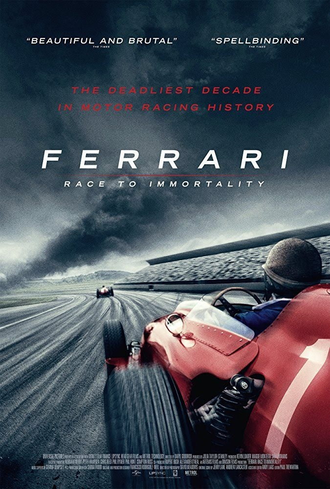 Ferrari: Race to Immortality cover