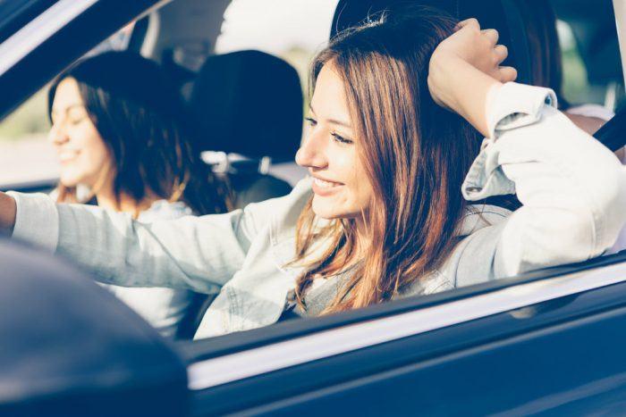 Girls Driving