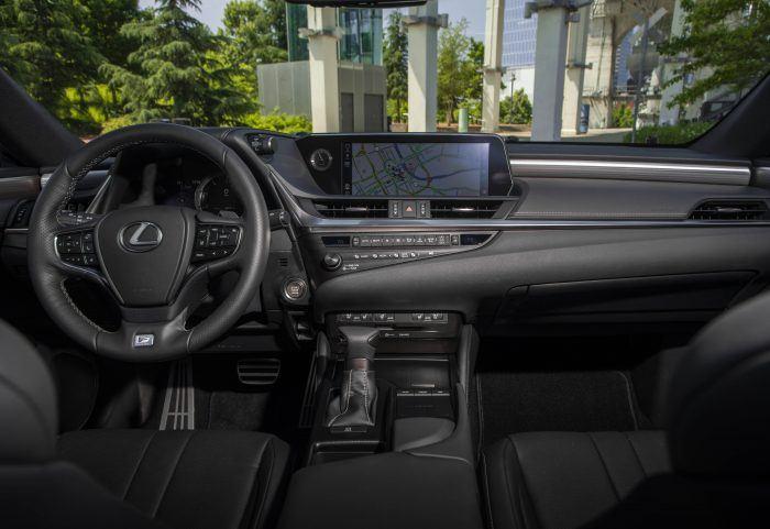 INTERIOR Lexus ES 350 FBlack Hadori Fsport27 20238847E7966A5A4D802709F8791743F86FC977
