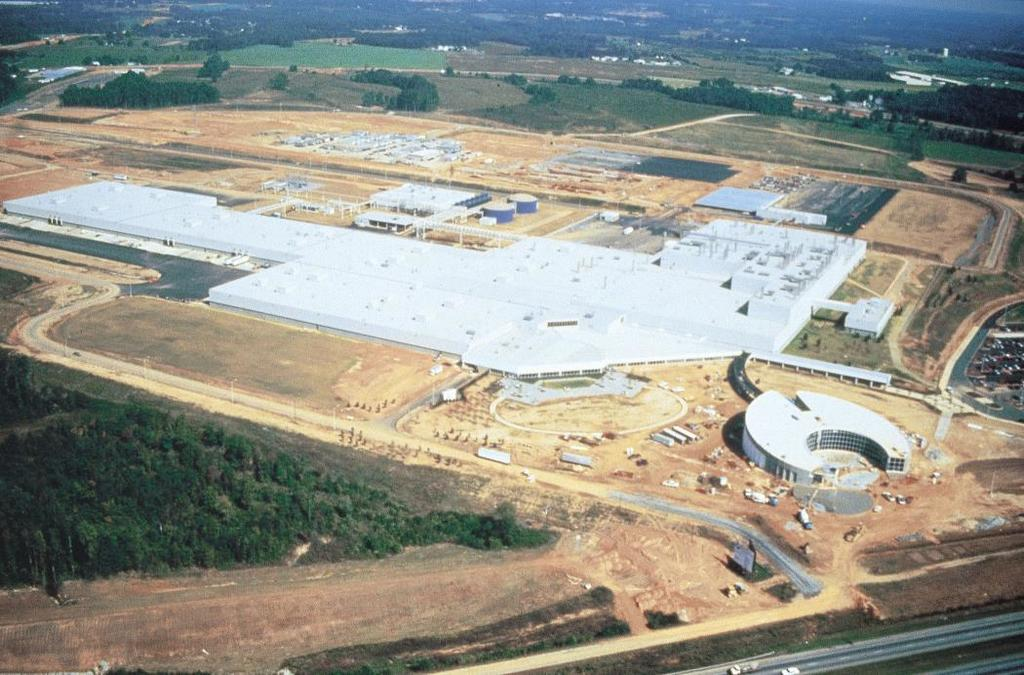 BMW Plant Spartanburg Prepping For X5 Production