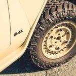 Rezvani TANK bullet proof tires