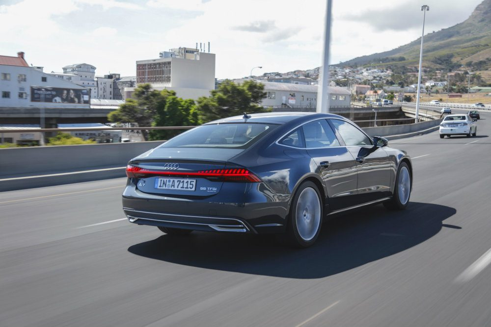 2019 Audi A7: The Sportback With Two Turbos & 900 Ambient Lights