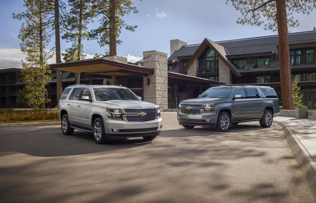 2019 Chevy Tahoe & Suburban Premier Plus Special Editions: Large & In Charge