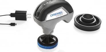 7 Dremel Versa hero with non scratch pad kit 370x180 - Forget Paper Towels: Here's How To Clean Your Car With a Power Tool
