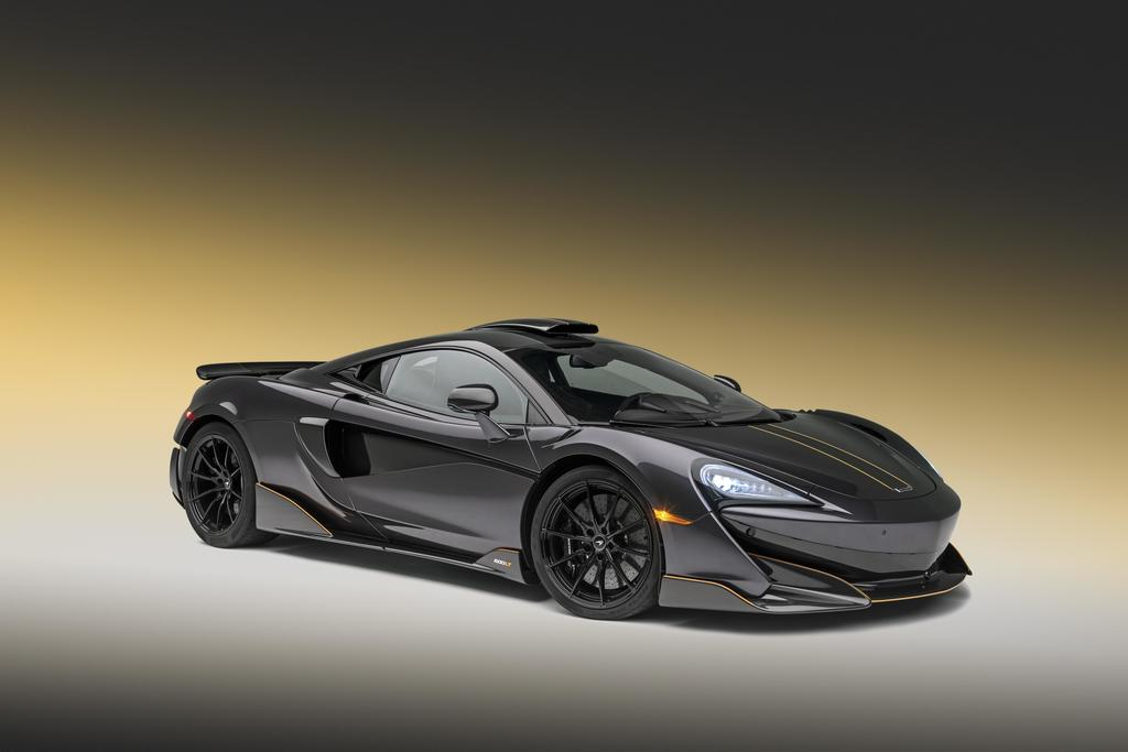 "McLaren 600LT Gets Stealth Grey Paint & Tons of ""Visual Carbon"""