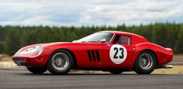 1962 Ferrari 250 GTO SI Coupe 370x180 - The 5 Most Expensive Cars Sold During The 2018 Monterey Car Week