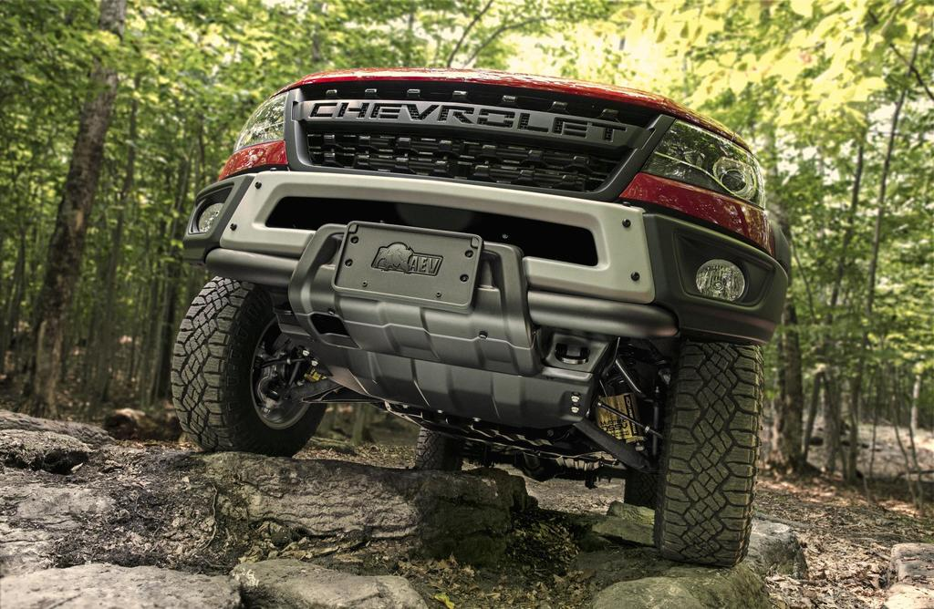2019 Chevy Colorado ZR2 Bison Takes The Fight To Ford's ...