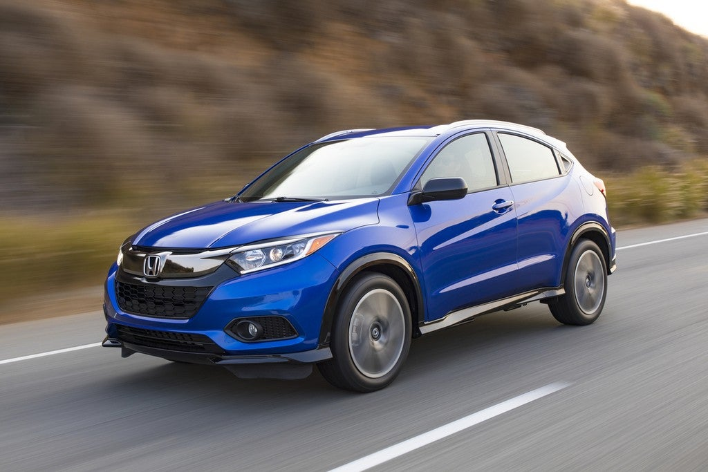 2019 Honda Hr V New Look New Features Old Volume Knobs