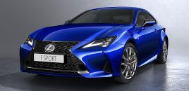2019 Lexus RC Set For Paris Debut