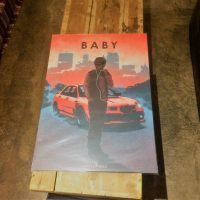 Displate baby 200x200 - Displate Metal Prints Review: Cars, Movies, 80s Retro & More.