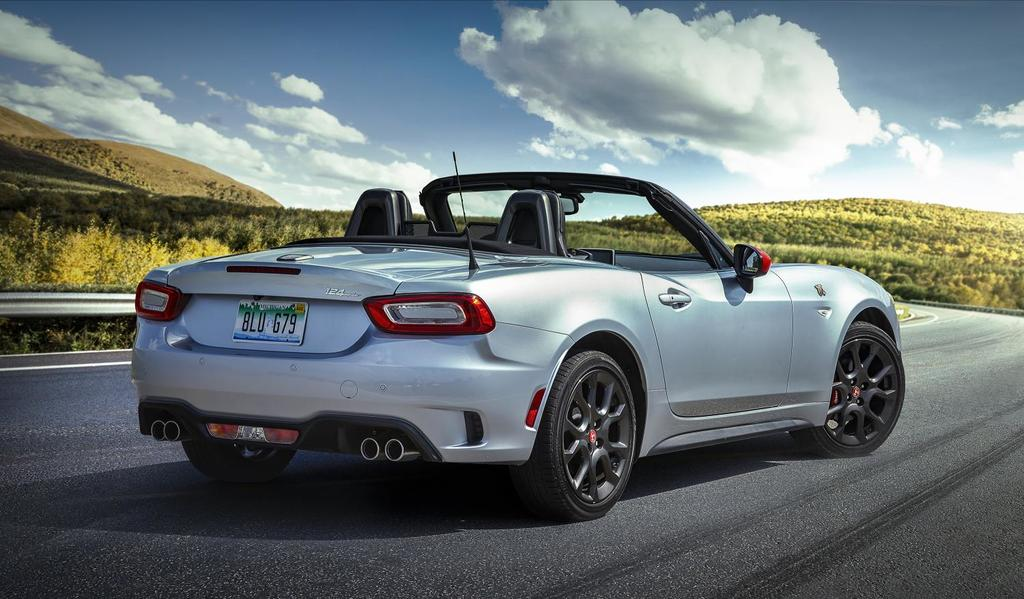 2019 Fiat 124 Spider: Growly Pipes & Rally Stripes